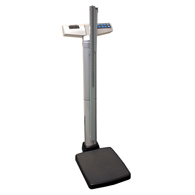 HealthOMeter 499KGHR Waist High Digital Scale with Height Rod-KG Only